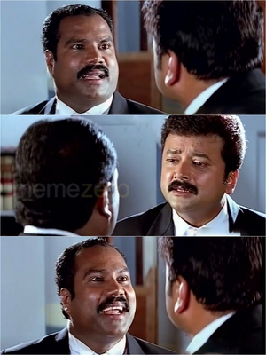 One Man Show Plain Meme of Kalabhavan Mani, Jayaram Screenshots