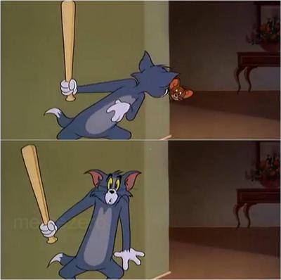 Tom And Jerry Plain Meme Of Jerry Tom Screenshots Meme Photo