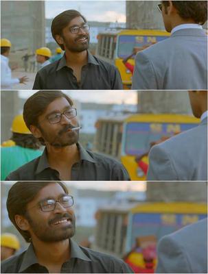 SG496G velaiilla pattadhari (vip) plain meme of dhanush screenshots, meme